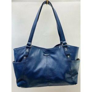 Relic Blue Safari Satchel Bag Two Straps Bag